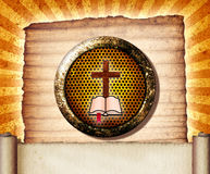 bibelcollage Royaltyfri Foto