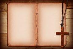 bibelcollage Arkivfoton