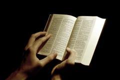 bibelhänder Royaltyfria Foton