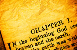 bibelhelgedom Fotografering för Bildbyråer