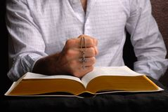 bibelkors royaltyfri bild