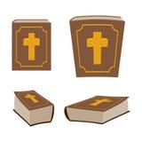 Bibeln är uppsättningen för den heliga boken Olik version av den heliga boken av ancie Royaltyfri Foto