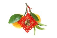 bibelot de mandarines Photographie stock libre de droits