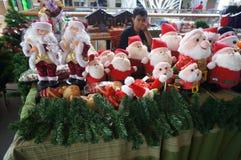 Bibelots de Noël Photos stock