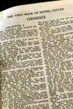 Bibelserienentstehungsgeschichte Lizenzfreie Stockfotos