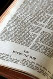 Bibelserienjob Stockbild