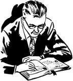 Bibelstudier royaltyfri illustrationer