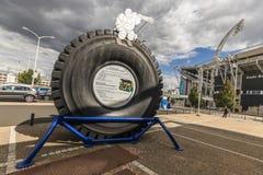 Bibendum oder Michelin Man lizenzfreies stockfoto