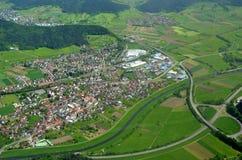Biberach aerial, Ortenau Royalty Free Stock Image