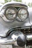 Biberach, Duitsland, 31 Augustus 2015: Amerikaanse uitstekende auto, het sluiten Royalty-vrije Stock Afbeelding