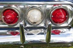 Biberach, Duitsland, 31 Augustus 2015: Amerikaanse uitstekende auto, het sluiten Royalty-vrije Stock Fotografie