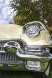 Biberach, Duitsland, 31 Augustus 2015: Amerikaanse uitstekende auto, het sluiten Stock Foto's