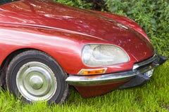 Biberach, Duitsland, 31 Augustus 2015: Amerikaanse uitstekende auto, het sluiten Royalty-vrije Stock Foto