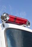 Biberach, Duitsland, 31 Augustus 2015: Amerikaanse uitstekende brandweervrachtwagen Royalty-vrije Stock Afbeeldingen