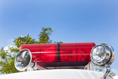 Biberach, Germany, 31 August 2015: American vintage fire service Stock Photos