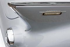 Biberach, Germany, 31 August 2013: Rear detail of Cadillac Eldor Royalty Free Stock Photo