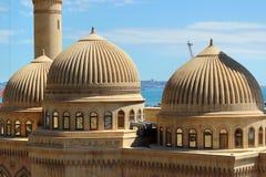 Bibi-Heybat historisk moské i Baku, Azerbajdzjan arkivfoto