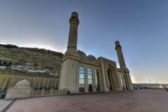 Bibi-Heybat moské - Baku, Azerbajdzjan arkivfoton