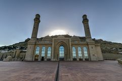 Bibi-Heybat Mosque - Baku, Azerbaijan. The Bibi-Heybat Mosque is a historical mosque in Baku, Azerbaijan. The existing structure, built in the 1990s royalty free stock photos