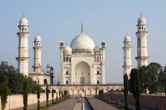 Bibi ka Maqbara i Aurangabad, Indien Arkivbild