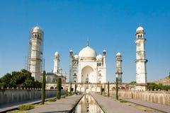 Bibi-ka-Maqbara poors man Taj Mahal Arkivfoton