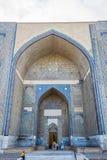 Bibi Khanum陵墓,撒马而罕,乌兹别克斯坦 免版税库存照片