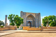 Bibi Khanum mausoleum, Samarkand, Uzbekistan Stock Photo