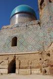 Bibi Khanum Mosque (Bibi Khanum), Moslem mosaic royalty free stock photo