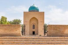 Bibi-Khanym陵墓在撒马而罕,乌兹别克斯坦 免版税图库摄影