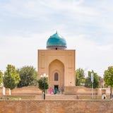 Bibi-Khanym Mausoleum in Samarkand, Uzbekistan. SAMARKAND, UZBEKISTAN - AUGUST 29, 2016: Bibi-Khanym Mausoleum in Samarkand, Uzbekistan royalty free stock photos