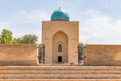 Bibi-Khanym Mausoleum in Samarkand, Uzbekistan. View of Bibi-Khanym Mausoleum in Samarkand, Uzbekistan royalty free stock photography