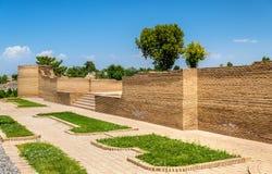 Bibi-Khanym Mausoleumin撒马而罕-乌兹别克斯坦看法  库存图片