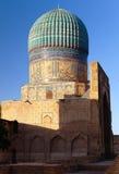 Bibi-Khanym moské - Registan - Samarkand - Uzbekistan royaltyfri fotografi
