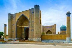 Bibi-Khanym moské, Samarkand, Uzbekistan royaltyfri fotografi