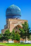 Bibi-Khanym mosk? i Samarkand, Uzbekistan arkivfoton