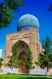 Bibi-Khanym mosk? i Samarkand, Uzbekistan royaltyfri foto