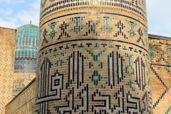 Bibi-Khanym mosk? Samarkand, Uzbekistan fotografering för bildbyråer