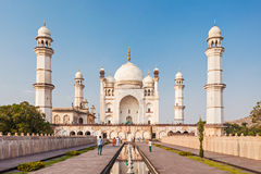 Bibi-qa-Maqbara in Aurangabad. Bibi-qa-Maqbara is widely known as the poor mans Taj in Aurangabad, India stock photos