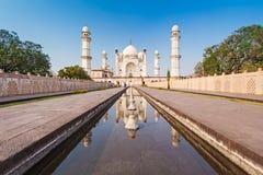 Bibi-qa-Maqbara in Aurangabad. Bibi-qa-Maqbara is widely known as the poor mans Taj in Aurangabad, India royalty free stock photo