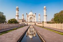 Bibi-qa-Maqbara in Aurangabad. Bibi-qa-Maqbara is widely known as the poor mans Taj in Aurangabad, India stock images