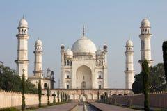 Bibika Maqbara in Aurangabad, India wordt gevestigd dat stock foto