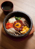 Bibim-ba Korean Food Royalty Free Stock Images