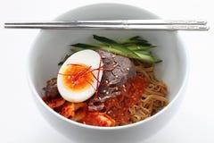 Bibim naengmyeon Stock Photos