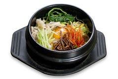 bibimbap κορεατικό ρύζι Στοκ Εικόνα