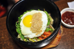 Bibimbap Royalty Free Stock Photography