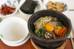 Bibimbap Royalty Free Stock Images
