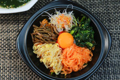 Bibimbap Photographie stock
