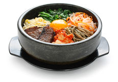 Bibimbap, cocina coreana Foto de archivo libre de regalías