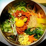 Bibimbap coreano Fotos de Stock Royalty Free