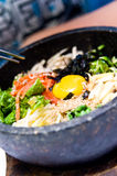 Bibimbap food Stock Image